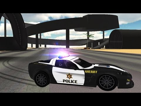 Police Car Driving Simulator stunts gameplay for kids. Cars games for boys. Best Android apps