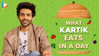 What I Eat In A Day With Kartik Aaryan | Secret Of His Amazing Fitness | Bollywood Hungama