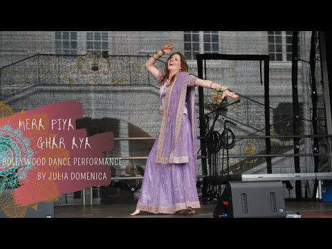 Julia Domenica Mera Piya Ghar Aya Juli 2012 video