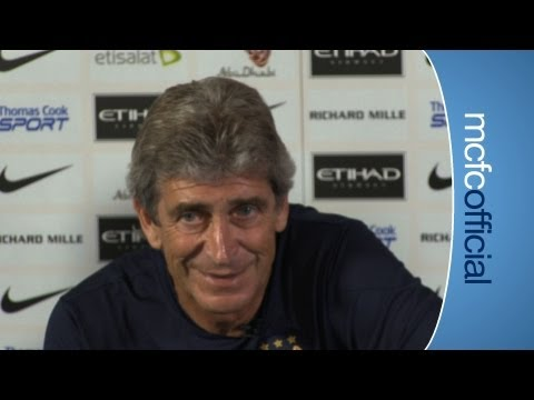 Manuel Pellegrini's 1st City Press Conference Part 2