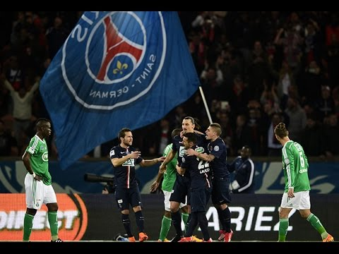 Coupe de France : 1/2 finales : Paris-SG - AS Saint-Etienne : 4-1, les buts !