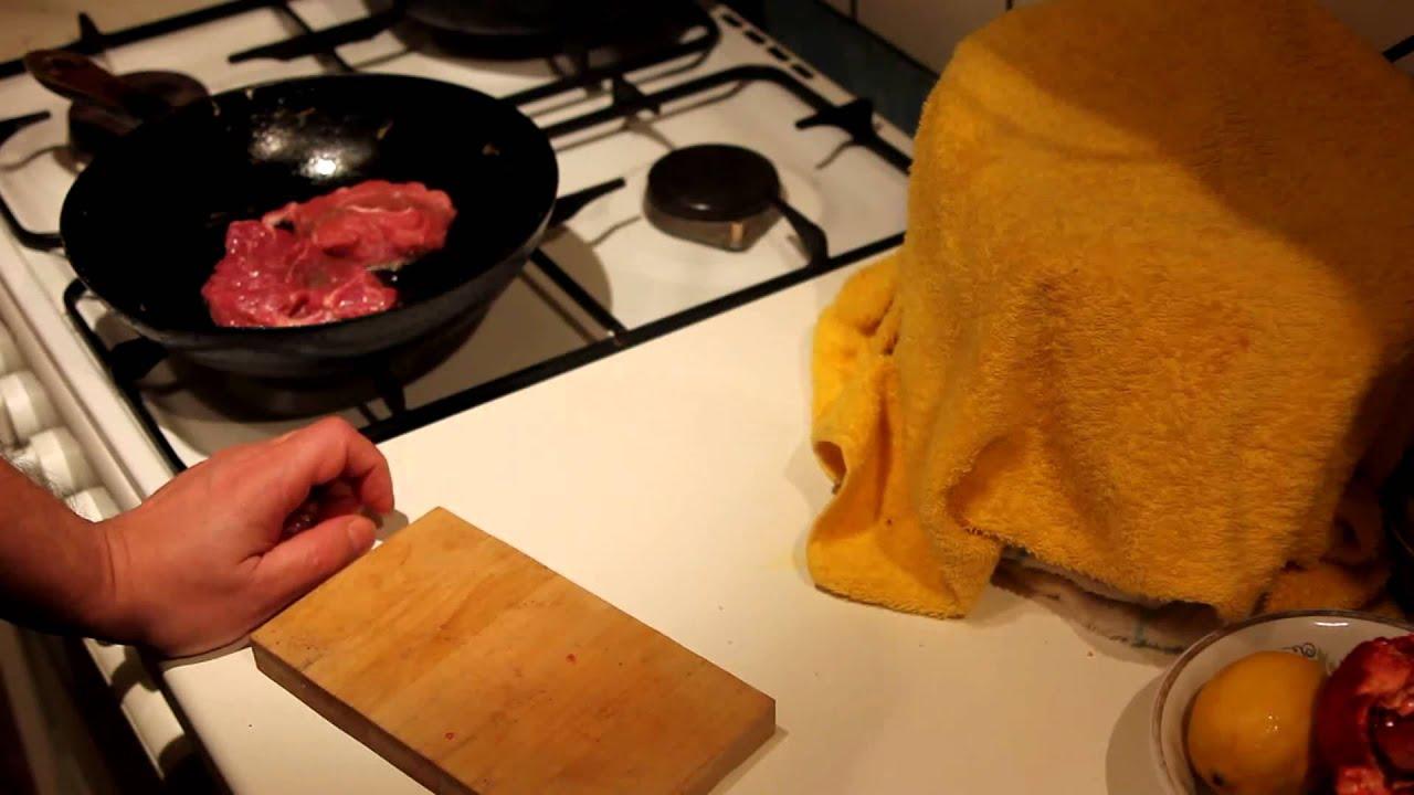 Как сделать мясную поджарку сочной