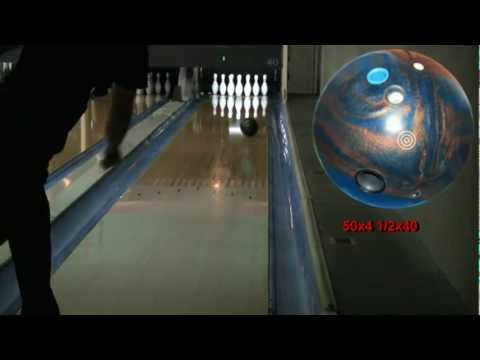 Ebonite Warning Sign Bowling Ball Review