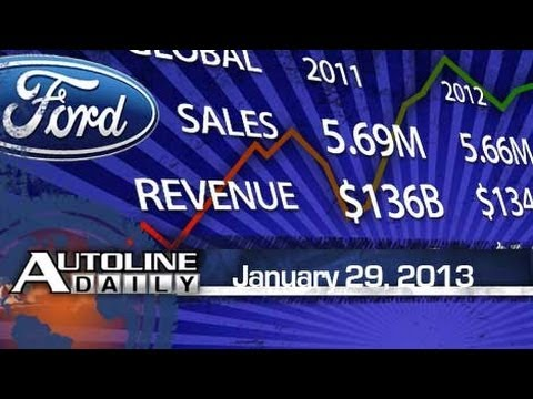 Ford Stopped Growing in 2012 - Autoline Daily 1059