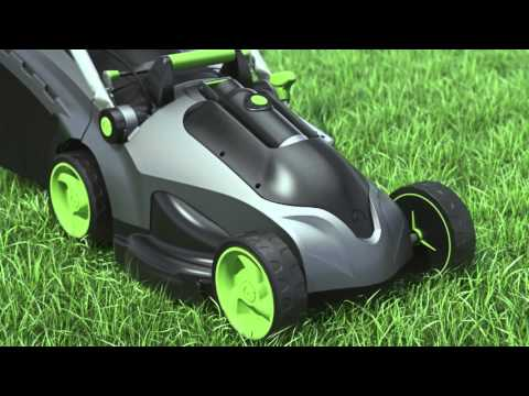 Gtech Cordless Lawnmower - How It Works