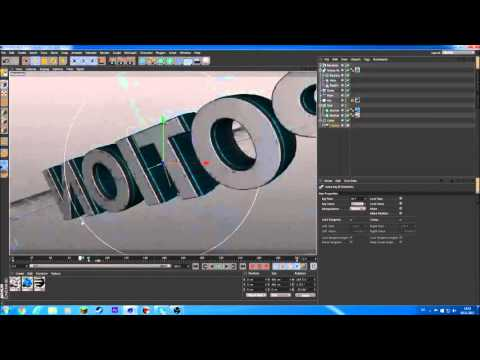 How to make an intro with After effects and cinema 4d (english)