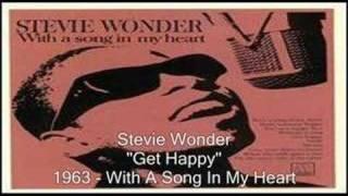 Watch Stevie Wonder Get Happy video