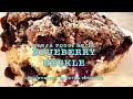 Blueberry Buckle Ninja Foodi Grill Cheekyricho Cooking Youtube Video Recipe ep.1,425