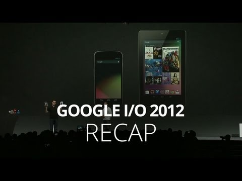 Nexus 7, Jelly Bean, & More! Google I/O Recap