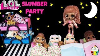 LOL House SLUMBER PARTY Big Sister Instagold Babysitter Pegasus Unicorn Surprise