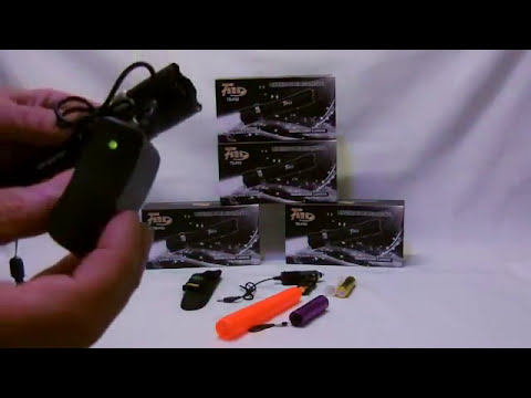 Lanterna Tática Police 9000W x 25000 Lumens