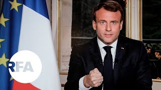 Tổng thống Pháp nói sẽ tái thiết Nhà thờ Đức Bà Paris trong 5 năm