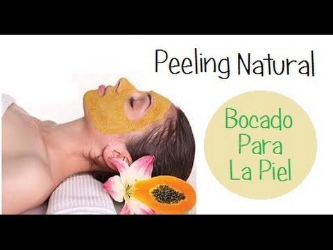 Peeling natural para estrías, manchas, cicatrices, acne etc.