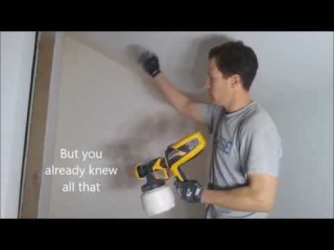 wagner flexio 590 paint sprayer demo tips review travel the world. Black Bedroom Furniture Sets. Home Design Ideas