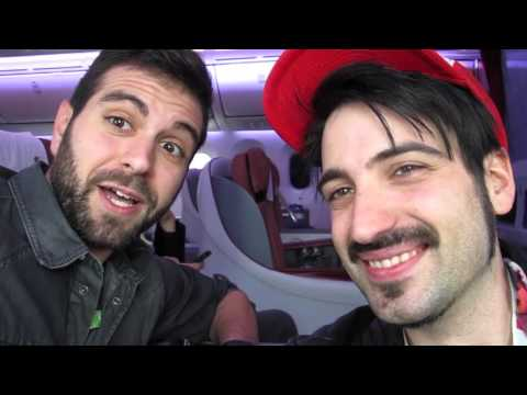 Rubius y todos los youtubers llegaron a la Argentina