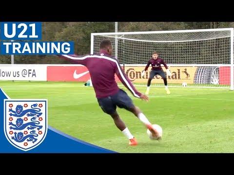 Berahino Incredible Strike - Eng U21 Shooting Practice | Inside Training