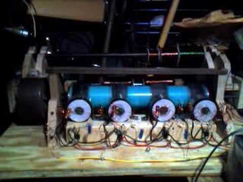 4 coil monopole pulse motor