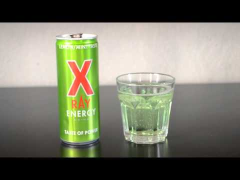 X RAY Lemon/Mint - Energy Drink Review