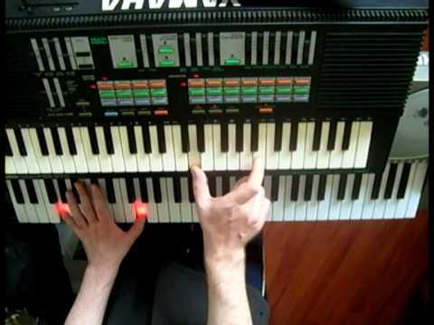 How To Play Surface of The Sun Keyboard Lesson Tutorial NO.1 EASY WAY