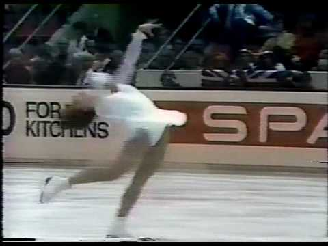 Kristina Wegelius (FIN) - 1982 World Figure Skating Championships, Ladies' Long Program