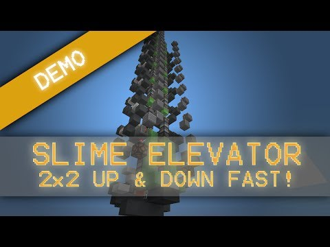 Minecraft How To Build A Fast Piston Elevator | Apps ...