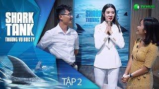 [FULL HD] SHARK TANK VIỆT NAM - TẬP 2 | 4 TỶ ĐẦU TƯ CHO STARTUP DẤM GẠO THUỶ TÂM | VTV 3