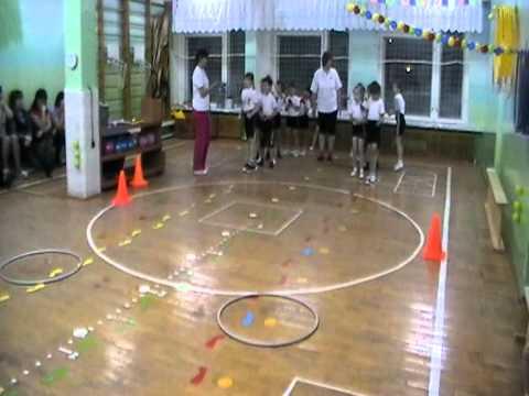 Физкультурное занятие (эстафеты по видам спорта) 2