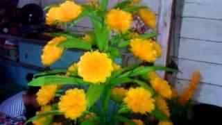 bunga dari plastik desa indraloka2