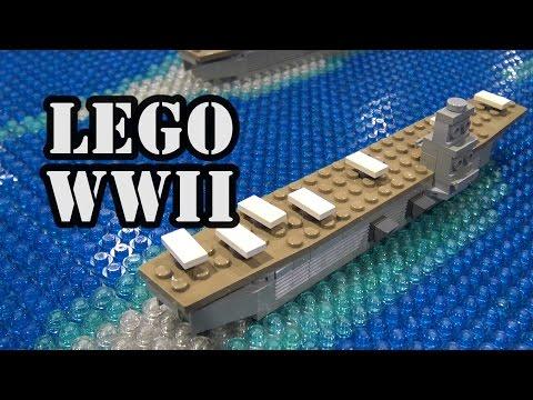 WWII Pearl Harbor Attack Timeline in LEGO   BrickFair Alabama 2017