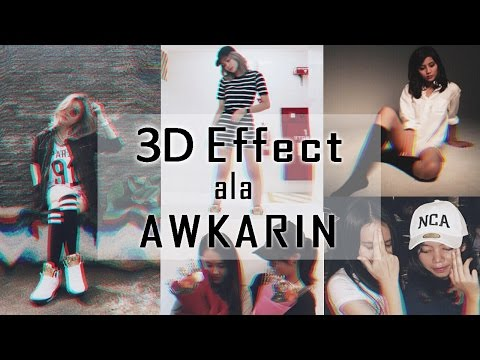 How to Make 3D Dubstep Effect in Picsart Mobile | Easy Tutorial