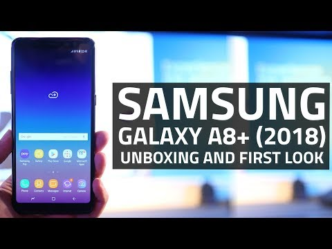 Samsung Galaxy A8+ (2018) Unboxing and First Look | Specs, Camera, Features, and More