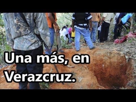 Tres cuerpos y una cabeza humana, en la nueva narcofosa en Veracruz