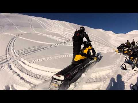 SnoWest rides the 2013 Ski-Doo Summit 800R XM in Sicamous, BC