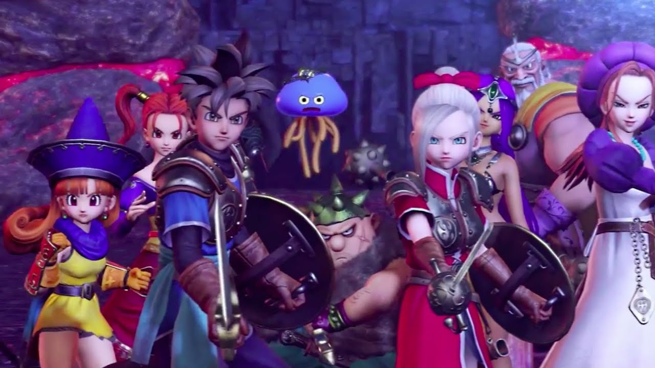 Dragon Quest Heroes The World Tree's Woe and the Heroes You Know Trailer