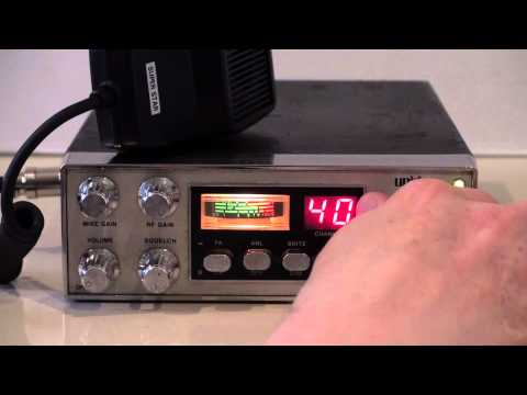 UNIDEN AX-44 AM CB RADIO