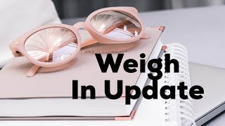 Weigh In Update // Slimming World // Failing To Plan is Planning to Fail