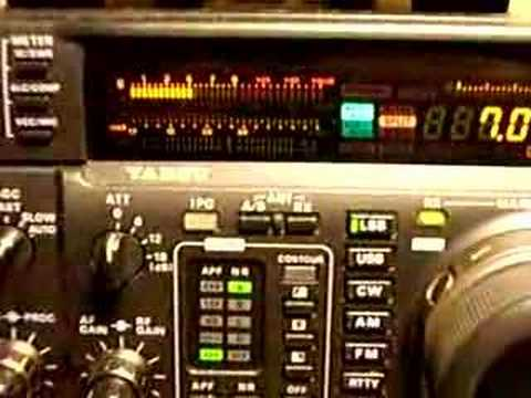 Vp6dx in 40 m ssb strong signal