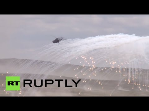 Largest ever military drills with Russia, China & other SCO nations