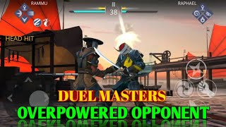 Shadow Fight 3 || Duel masters 😎 || How to kill overpowered opponent