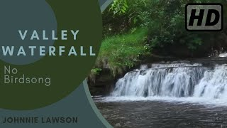 Forest Waterfall- Nature Sounds W/O Birds Singing-Relaxing Sound of Water-Relaxation Meditation