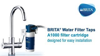 BRITA Filter Taps - Filter installation and replacement
