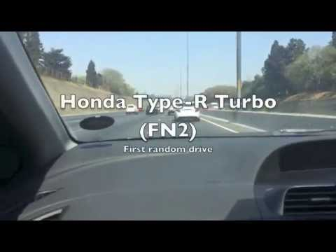 Honda Civic Type R FN2 Turbo First Drive