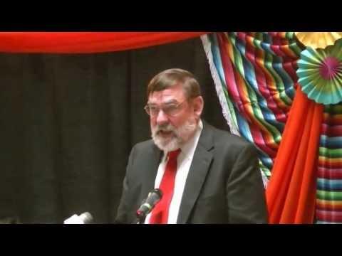 Hiram College Dean Robert Haak at Cinco de Mayo