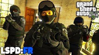 GTA 5 LSPD:FR - BANKÜBERFALL mit SWAT - Deutsch - Polizei Mod #72 Grand Theft Auto V