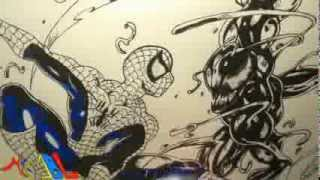 Dibujando a: Spiderman Vs Carnage
