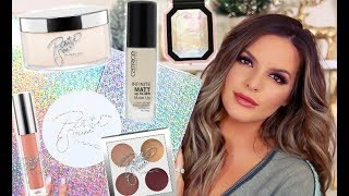 GET READY WITH ME Using NEW PRODUCTS!   Casey Holmes