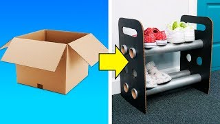 59 USEFUL CARDBOARD BOXES CRAFTS