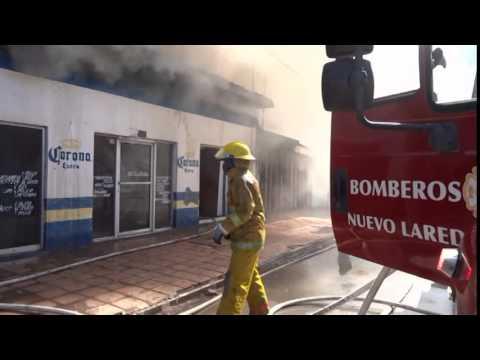 Incendio en locales 25 Nov 2014
