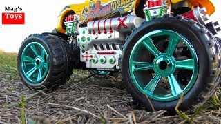 Monster Truck Driving Action Video for Kids | RC Toy car