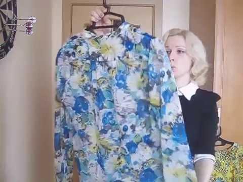 Яркие китайские блузы 57